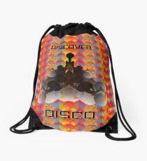 A Trek to Discover DISCO Drawstring Bag