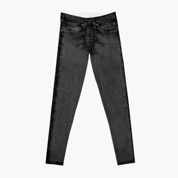 Classic Style Black Jeans Leggings
