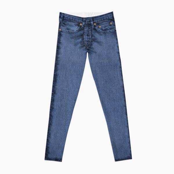 Classic Blue Jeans Leggings