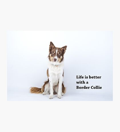 Life is better Photographic Print