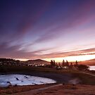 Night falls over Crescent Head by Fran53