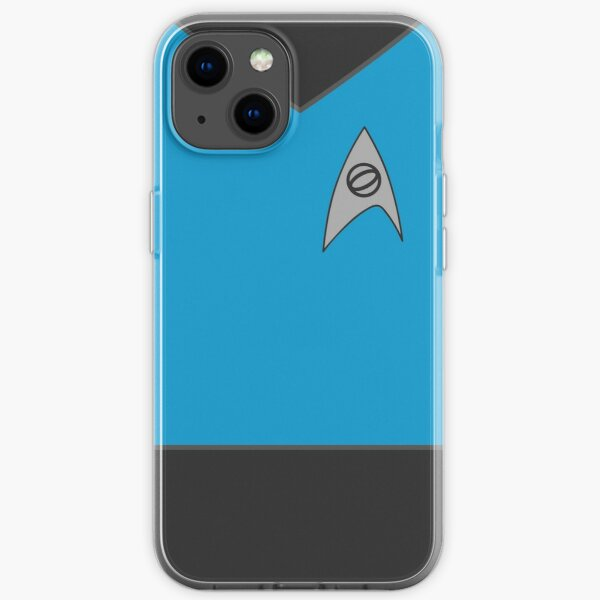 Science Blue iPhone Soft Case