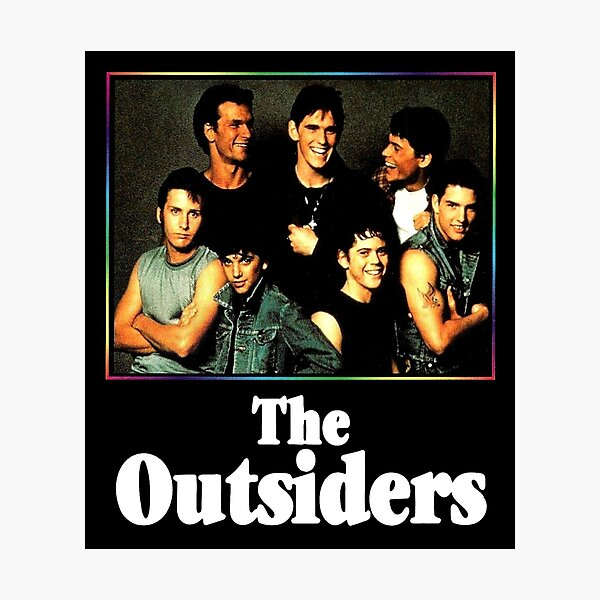 The Outsiders Best Movie Photographic Print