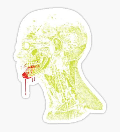 Zombie Fed Sticker