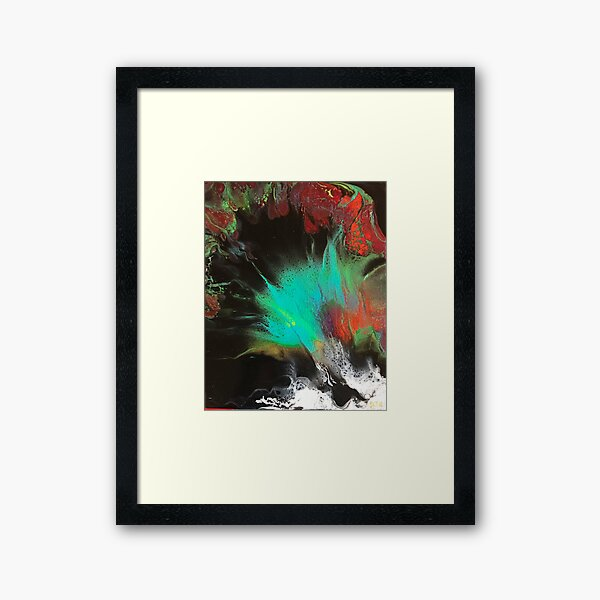 Vibrance Intuitive Art Framed Art Print
