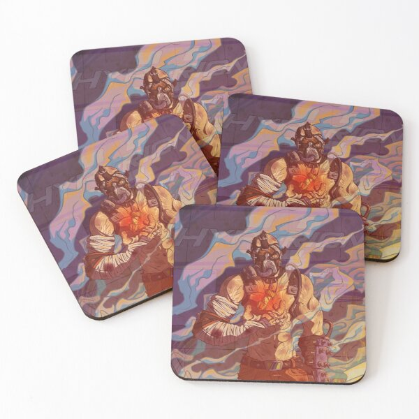 PULL THE PIN  Coasters (Set of 4)