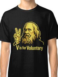 Lysander Spooner Voluntaryism Classic T-Shirt