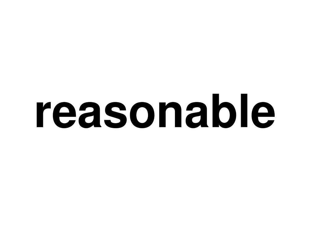 reasonable by ninov94