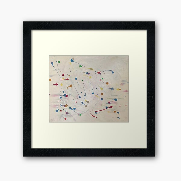 Splash Framed Art Print