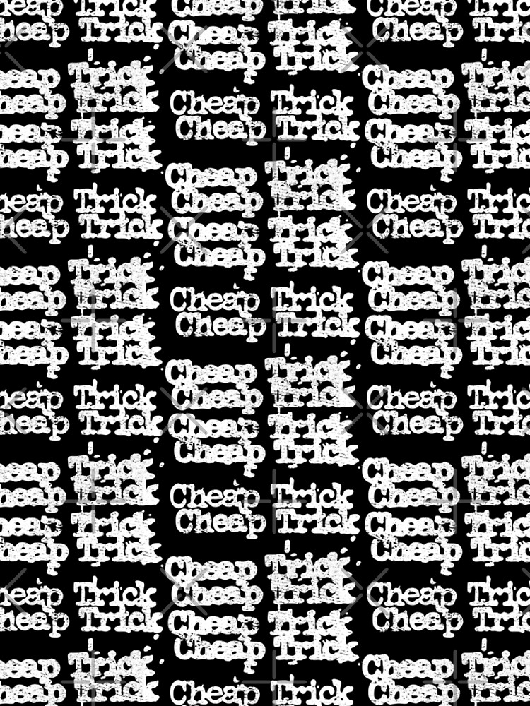 Cheap Trick (distressed design) by siggyspatsky