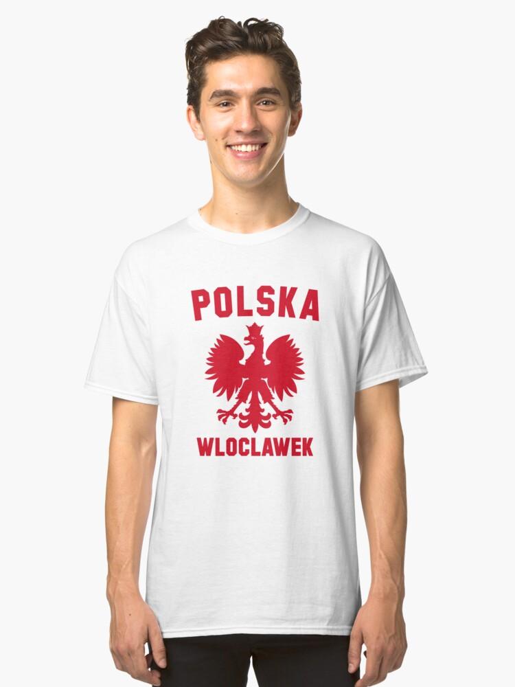 WLOCLAWEK Classic T-Shirt Front
