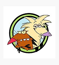 The Angry Beavers Photographic Print