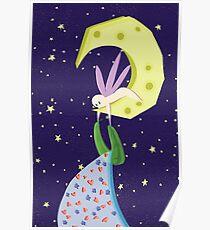 Moon Fairy Poster