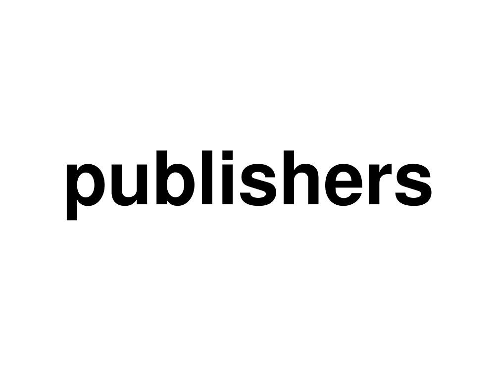 publishers by ninov94