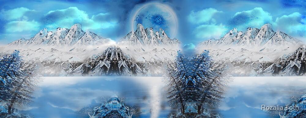 Imaginary Winterland by Rozalia Toth