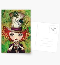 Lady Hatter Postcards