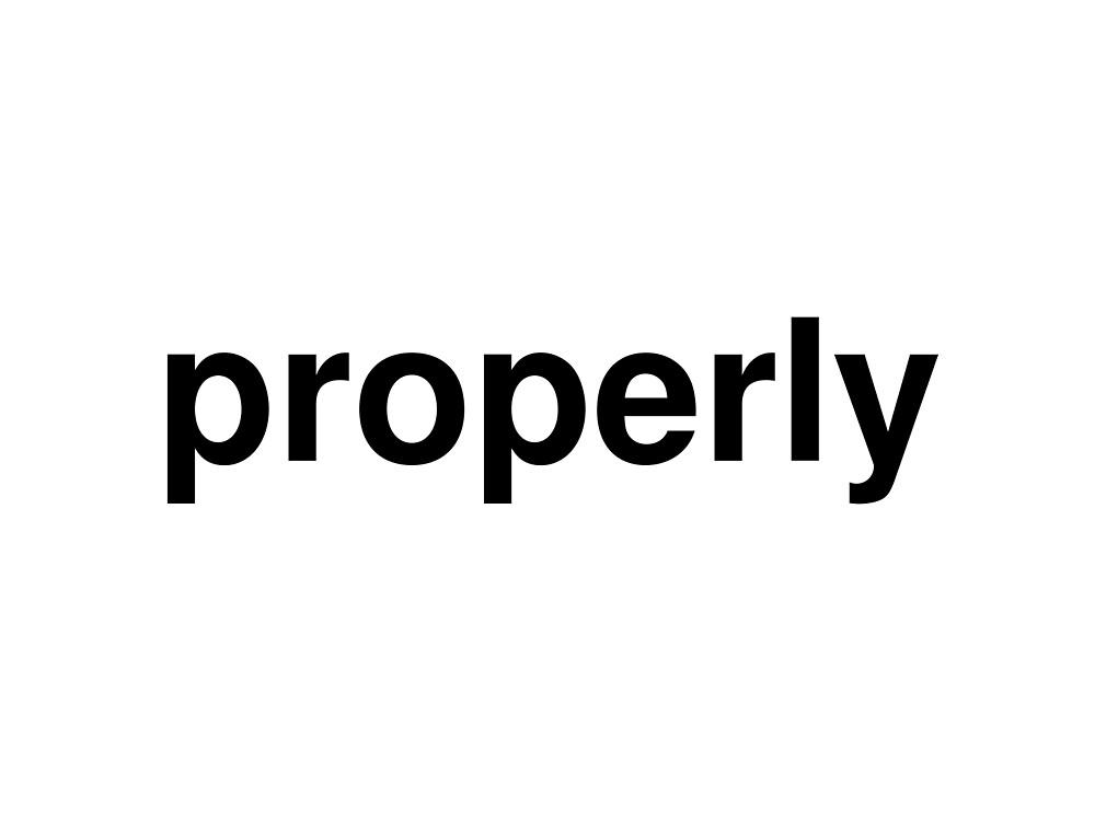 properly by ninov94