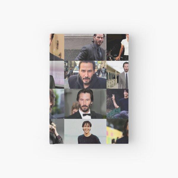 Keanu Reeves Collage Carnet cartonné