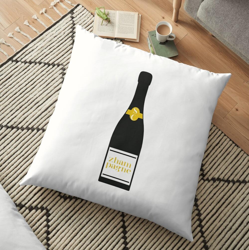 Zhampagne - Schitt's Creek Floor Pillow