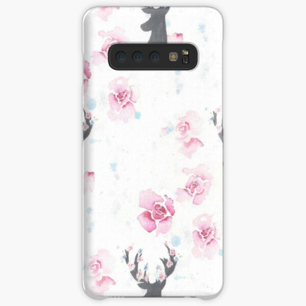 Floral stags Samsung Galaxy Snap Case
