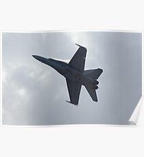 F-18 display Poster