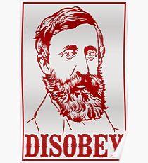 Póster Henry David Thoreau