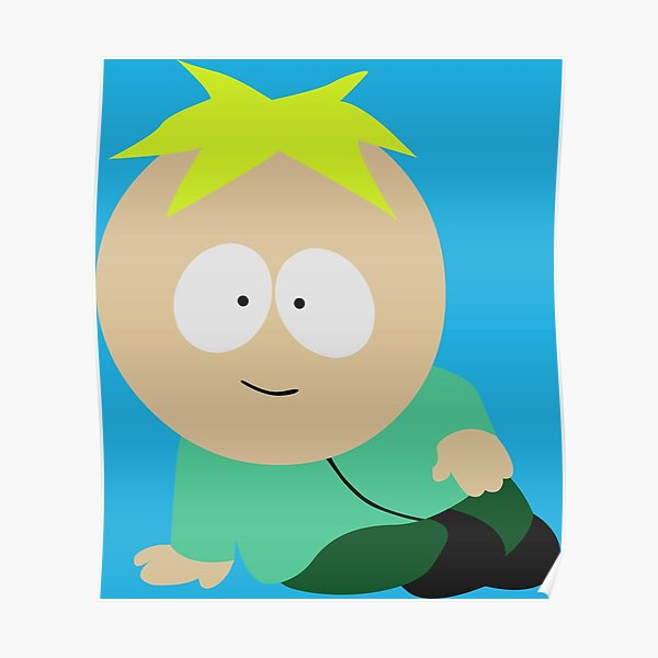Smexy Butters - South Park - Funny Character Poster