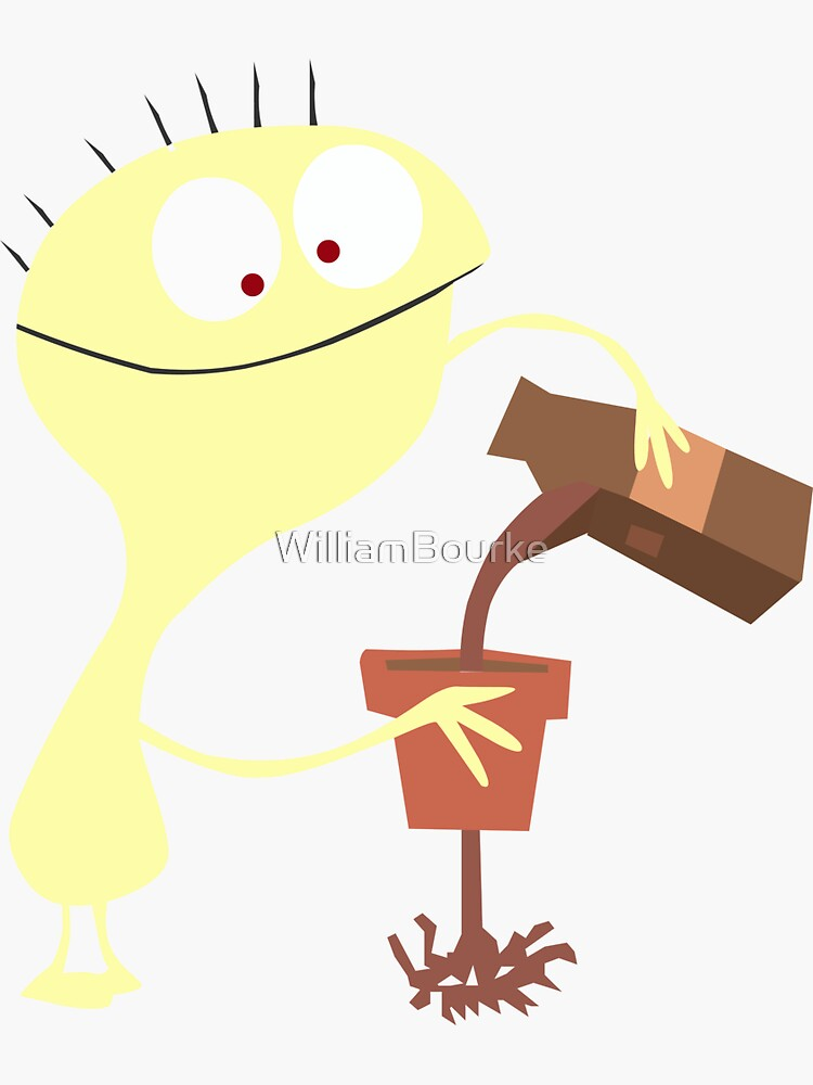 Cheese - Fosters Home For Imaginary Friends - Funny Character by WilliamBourke