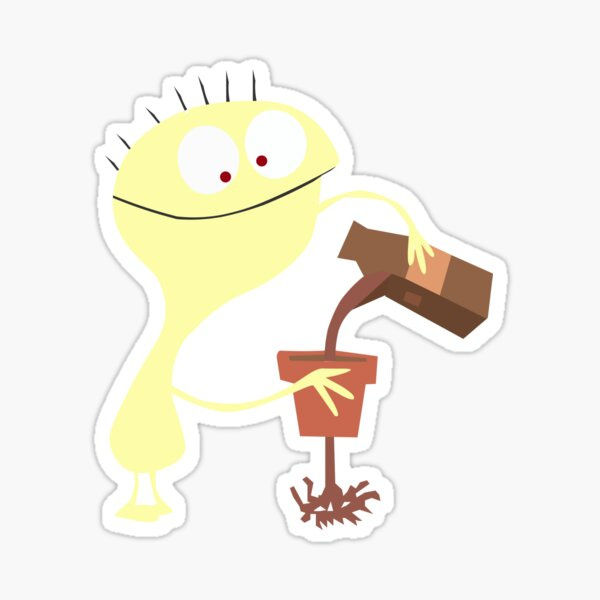 Cheese - Fosters Home For Imaginary Friends - Funny Character Sticker