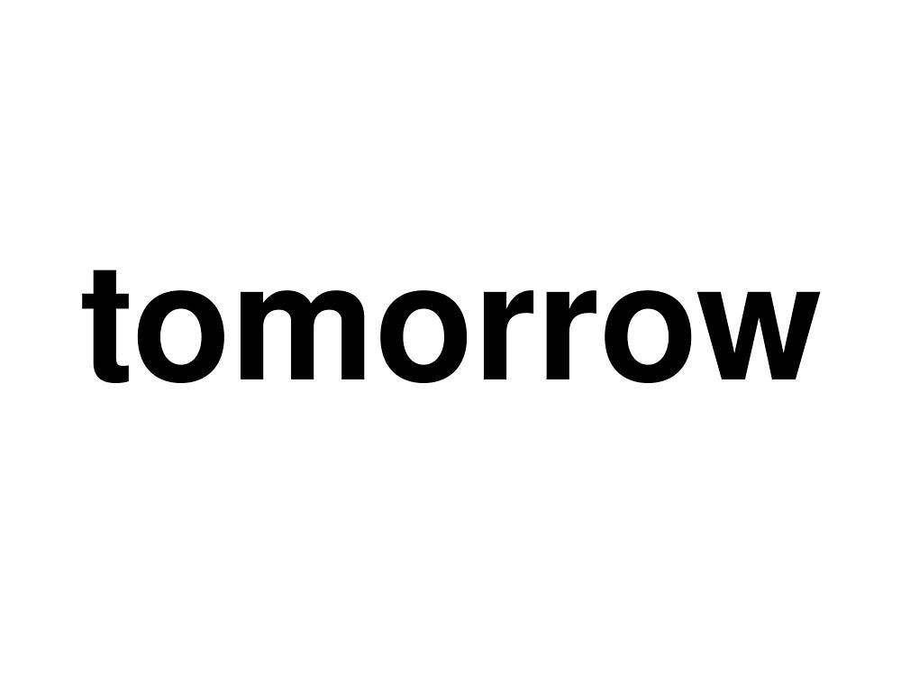 tomorrow by ninov94