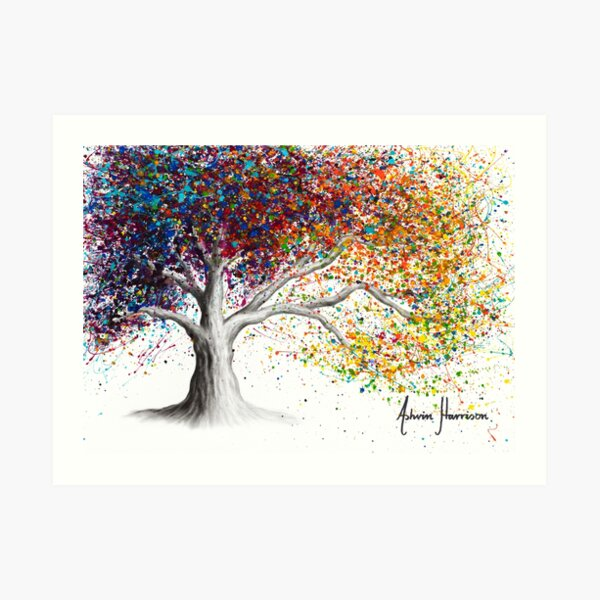 The Colour of Dreams Art Print