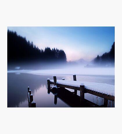 Winter Blues. Photographic Print