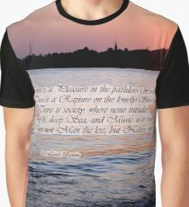 A Fragment from Lord Byron Graphic T-Shirt