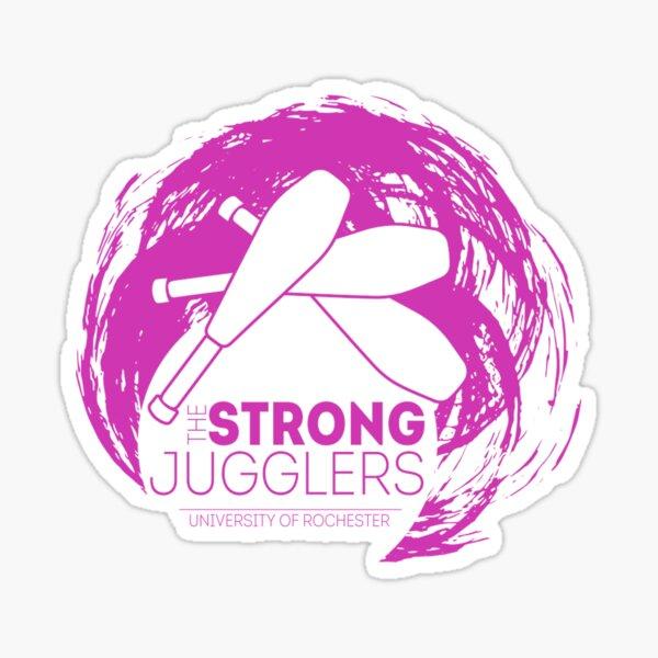 SJ Logo, Pink Sticker