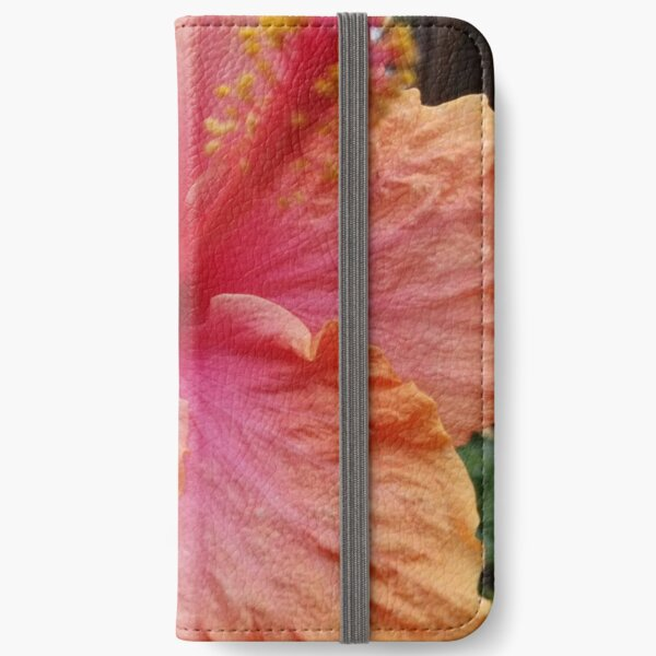 Hibiscus iPhone Wallet