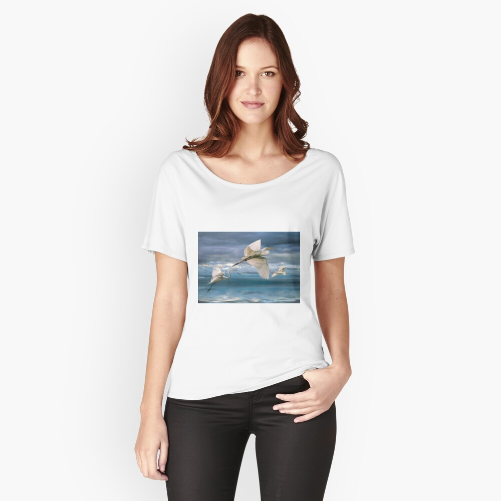 Night Flight Women's Relaxed Fit T-Shirt Front
