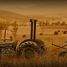 Old Tractor at the farm by harshcancerian
