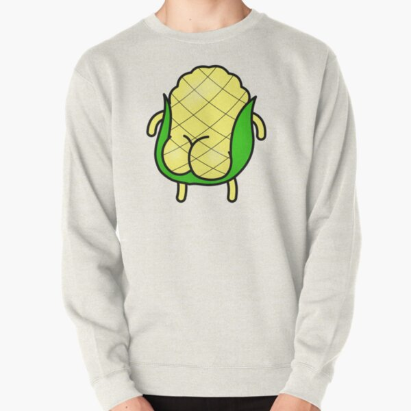 Corn Buns Pullover Sweatshirt