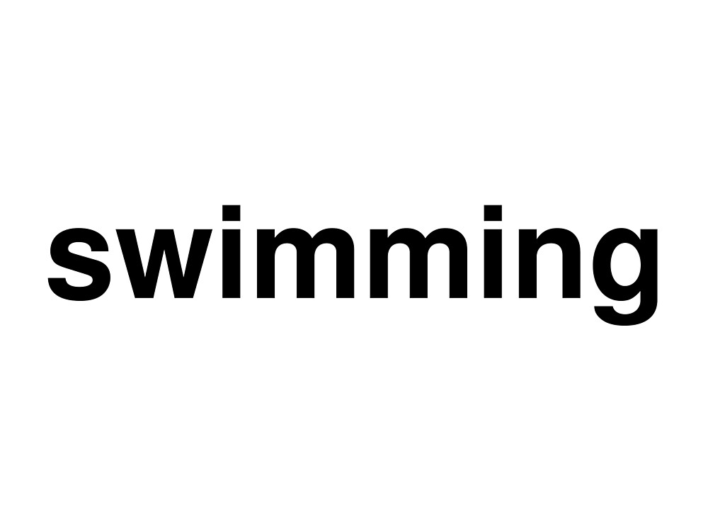 swimming by ninov94