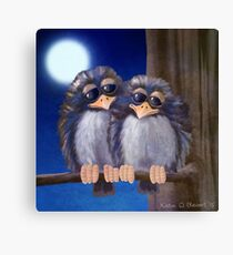 Baby Birds Canvas Print
