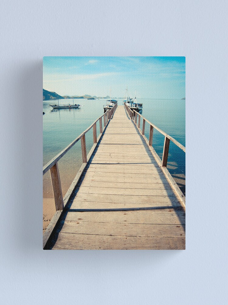 Alternate view of Step towards Komodo Canvas Print