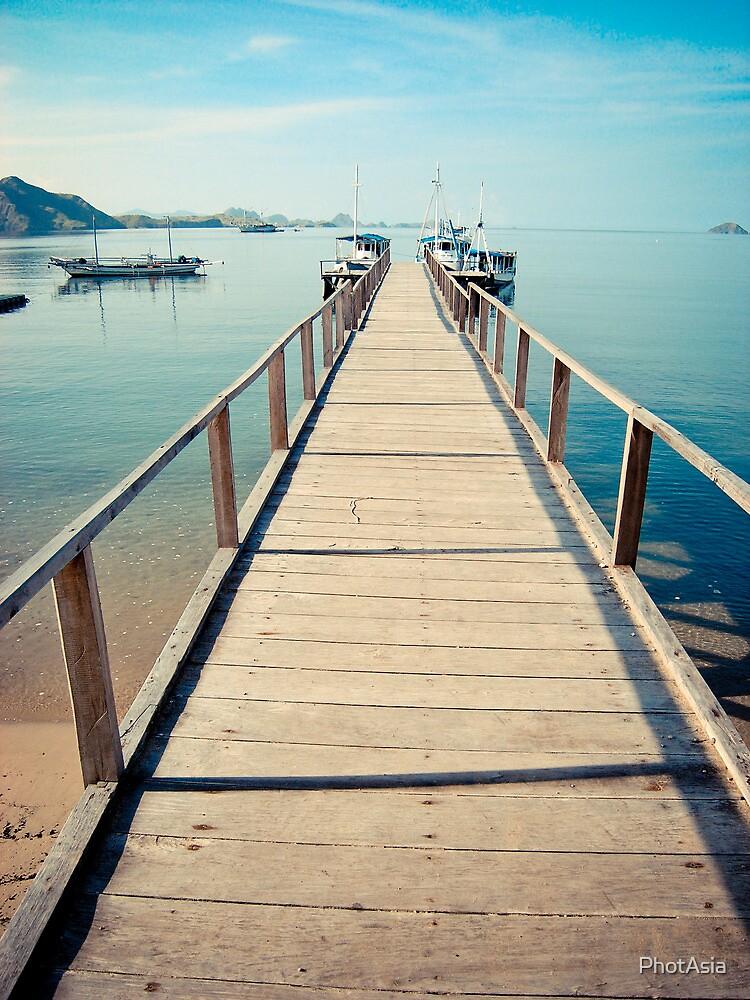 Step towards Komodo by PhotAsia