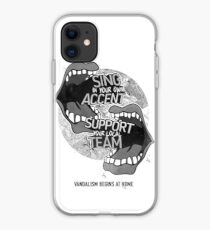 Sing In Your Own Accent - Support Your Local Team - Phonecase iPhone Case