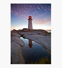 Peggy's Cove Lighthouse Photographic Print