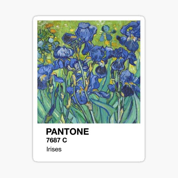 Pantone Irises Sticker