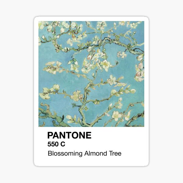 Pantone Blossoming Almond Tree Sticker