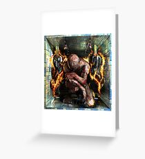 "Ecce Homo 104 ""RE:ANGEL"" Greeting Card"