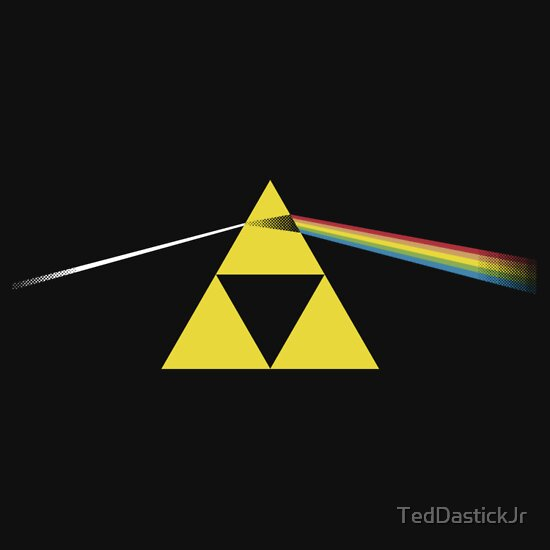 TShirtGifter presents: The Dark Side of the Triforce