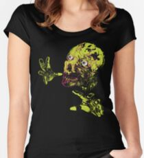 Zombie Grab Women's Fitted Scoop T-Shirt