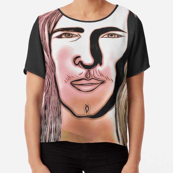 By Jennifer Stephens ~ Jennifer's Art Design Chiffon Top